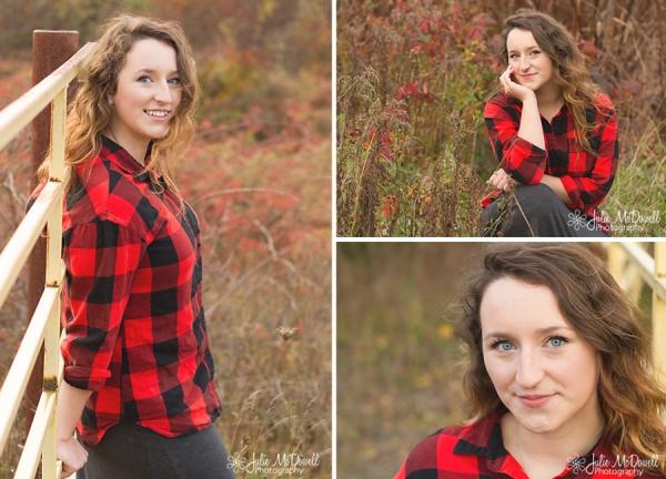 Country girl senior portraits